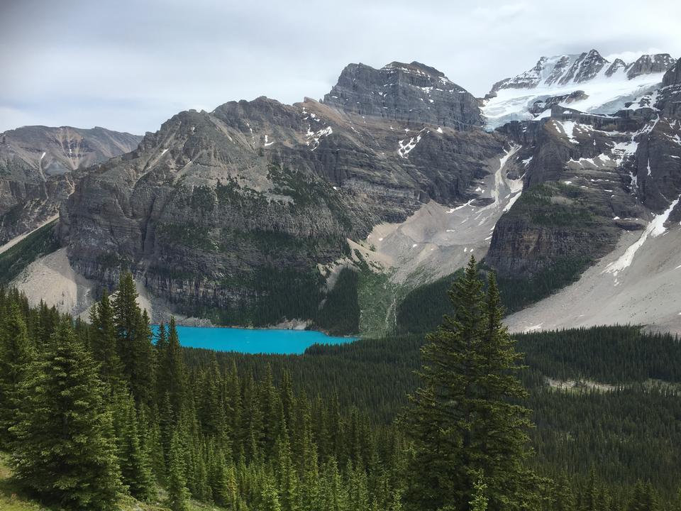Moraine Lake Banff Park Canada