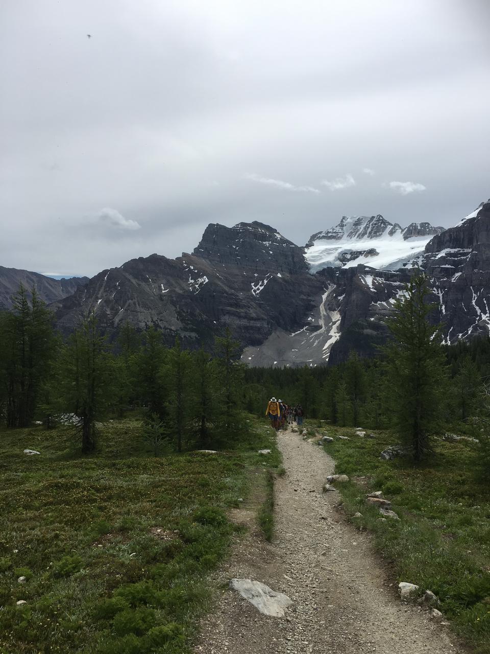 Larch Valley Trail - The Ten Peaks, Moraine Lake, Banff