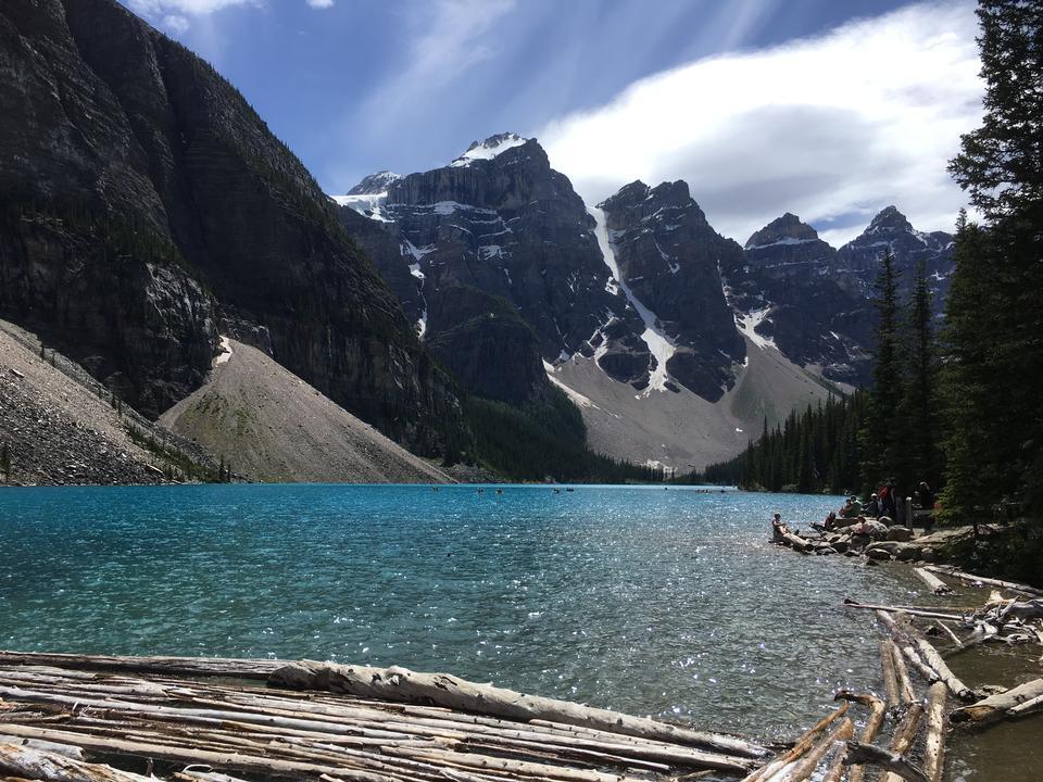 モレーン湖バンフパークカナダ