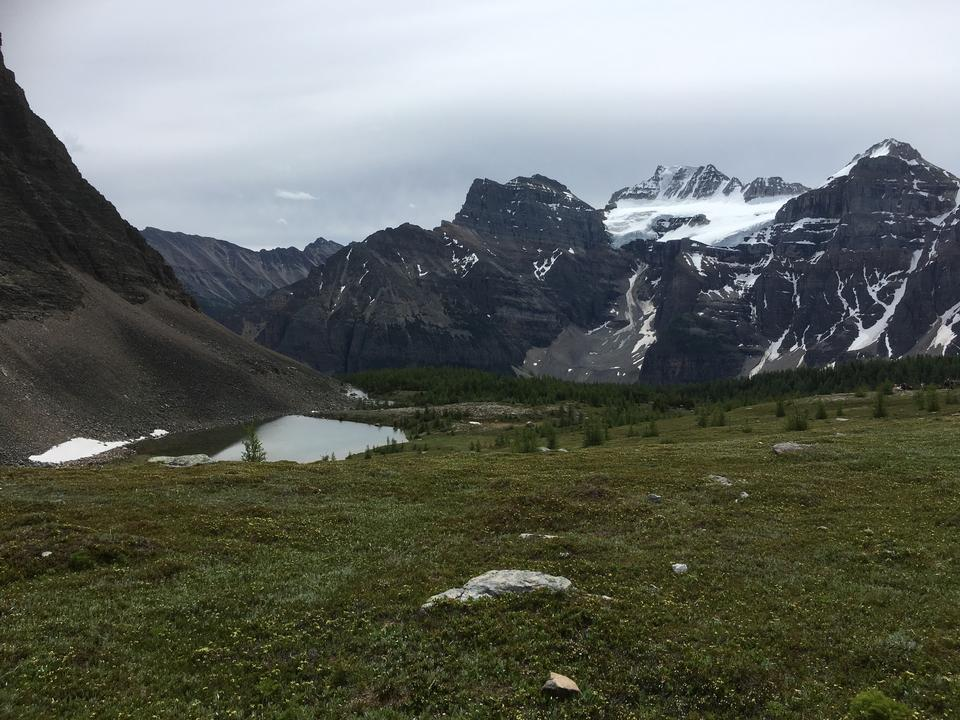 Larch Valley Trail - The Ten Peaks, Moraine Lake, Banff