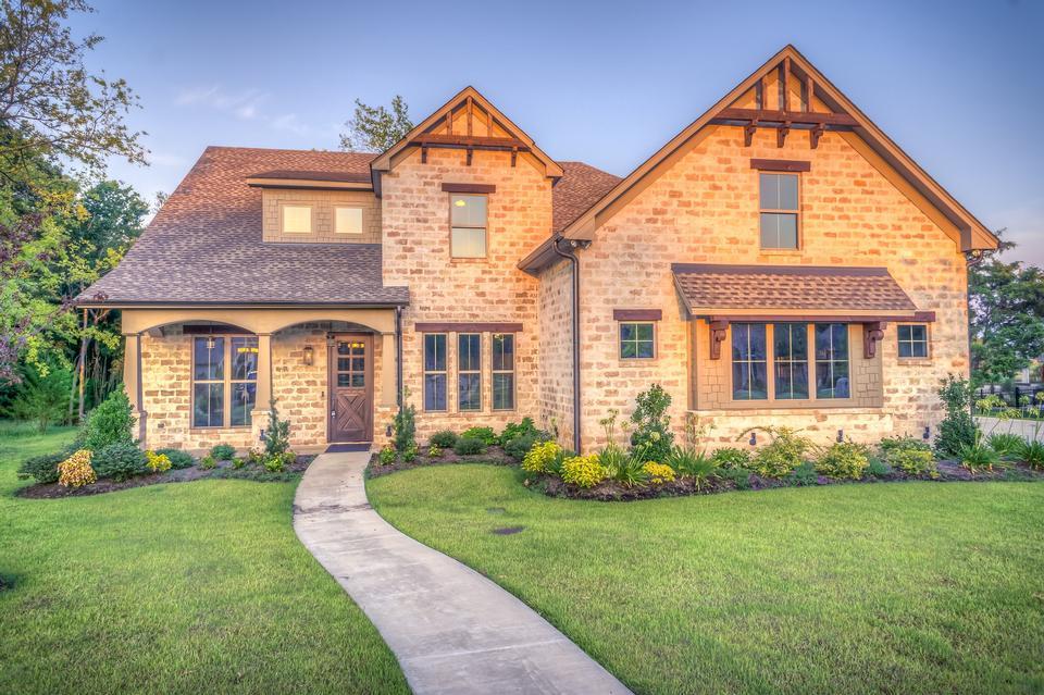 单家独户的房子有两个层次