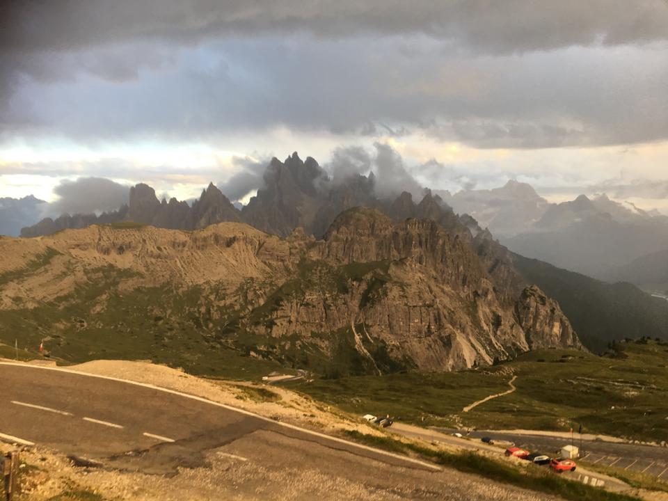 Dolomites landscape, Giau Pass, Italy