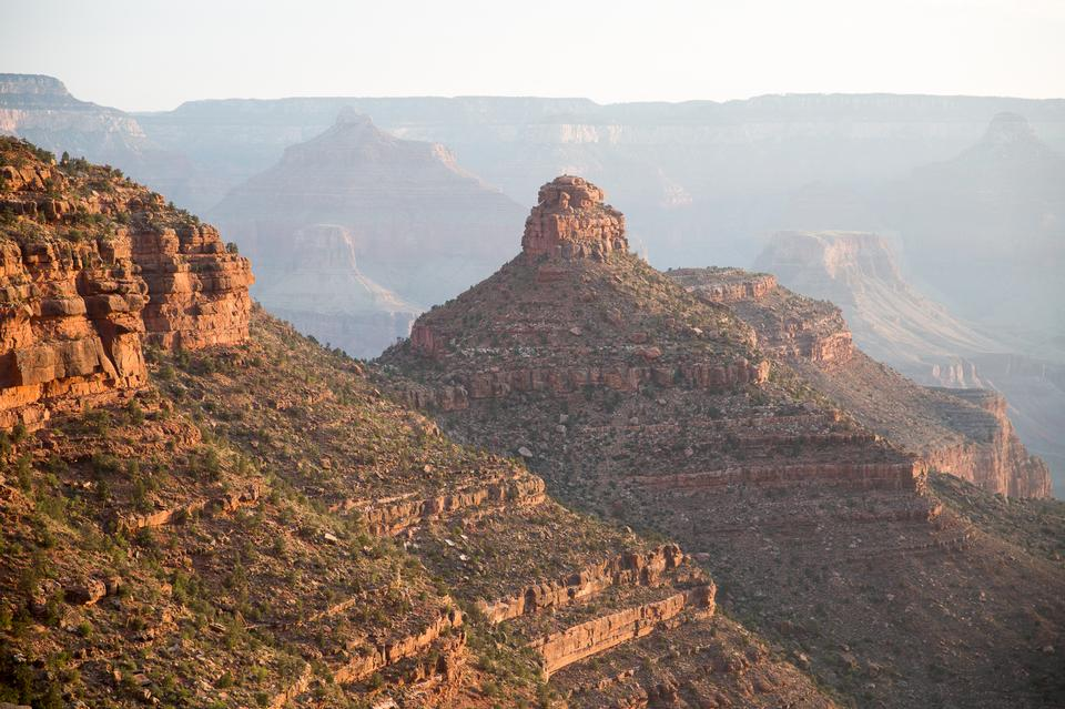 Kaibab trail, south rim, Grand Canyon national park, arizona