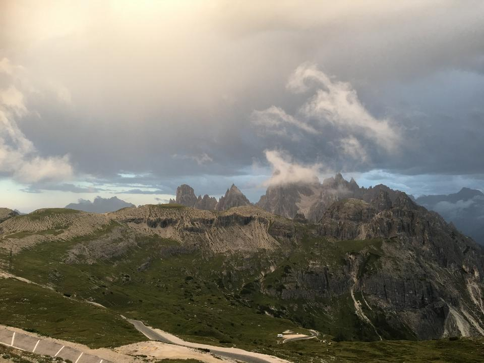 Dolomiten Landschaft, Giau-Pass, Italien