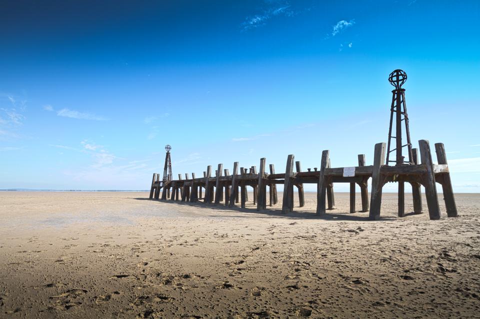 圣安妮码头登陆码头的遗迹