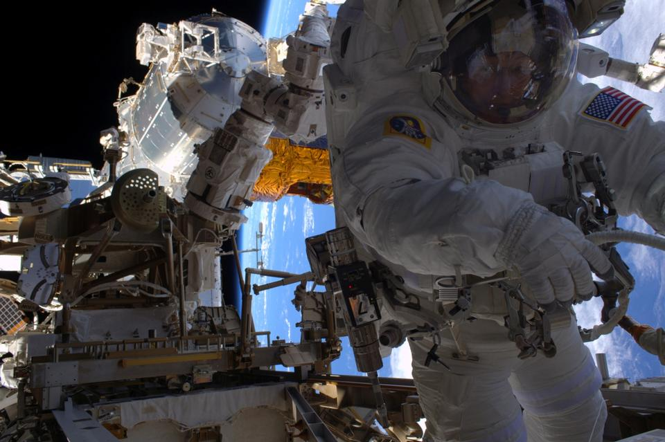 Астронавт НАСА Spacewalk