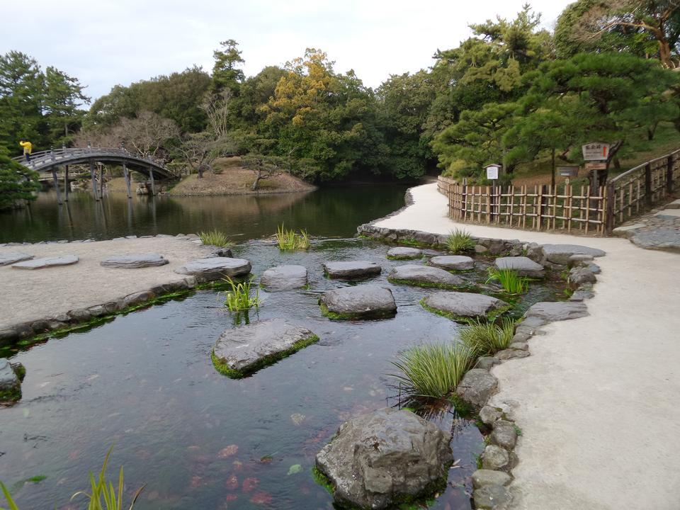 다카마쓰 일본에서 일본 정원