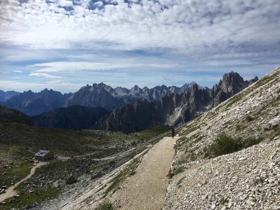 Baita in sudtirol,dolomiti,Italia