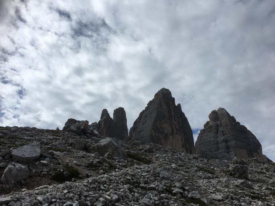 Tre Cime. Alpes Dolomitas, Italia