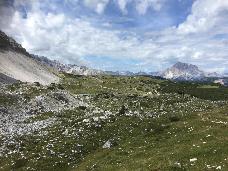 Baita en sudtirol, dolomiti, Italia