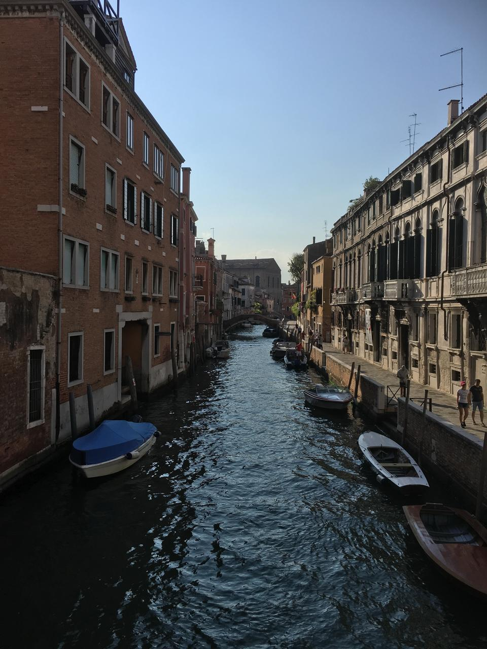 Paesaggio del Canal Grande Venezia Italia