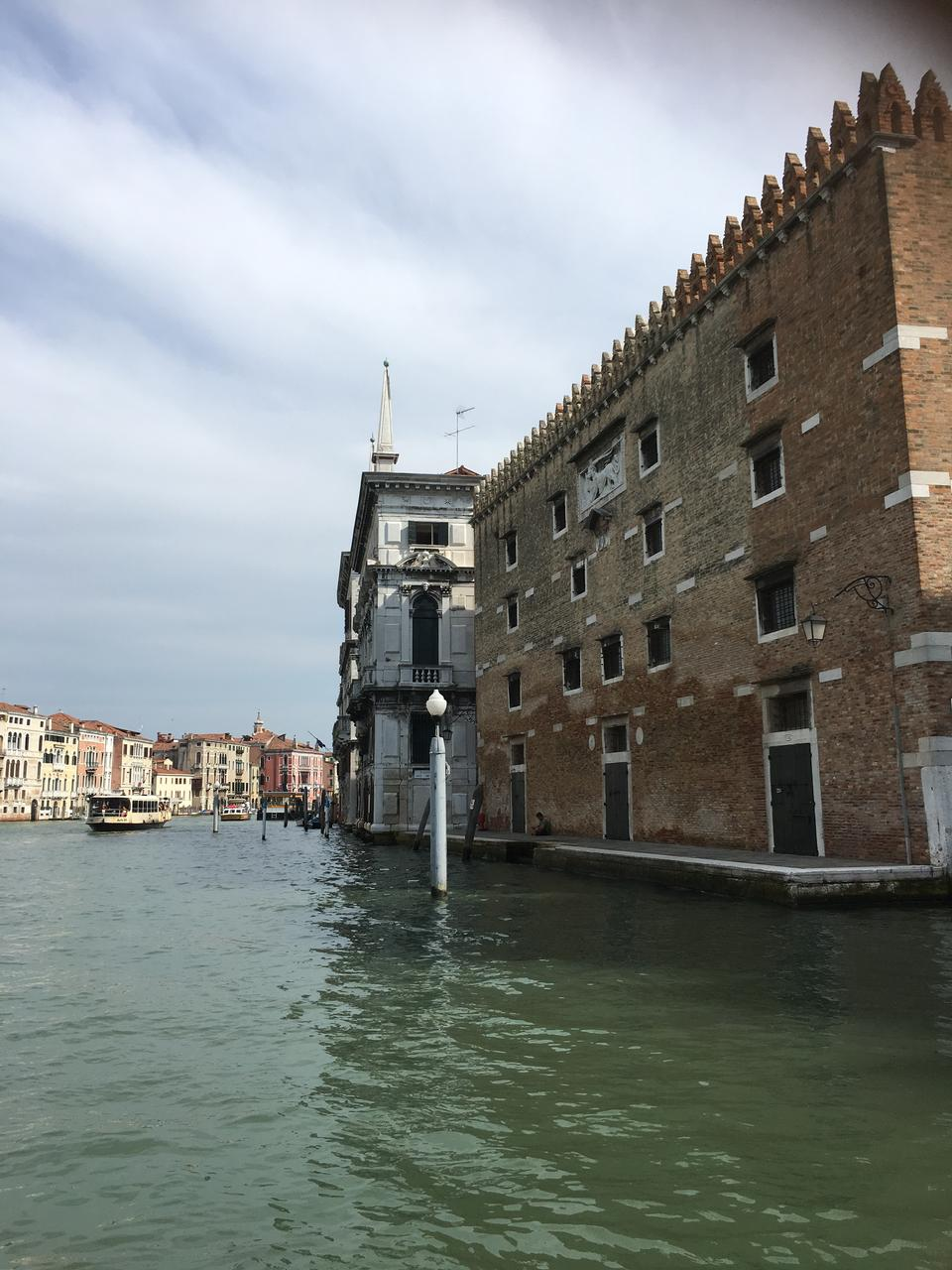 Landscape of Grand Canal Venice Italy
