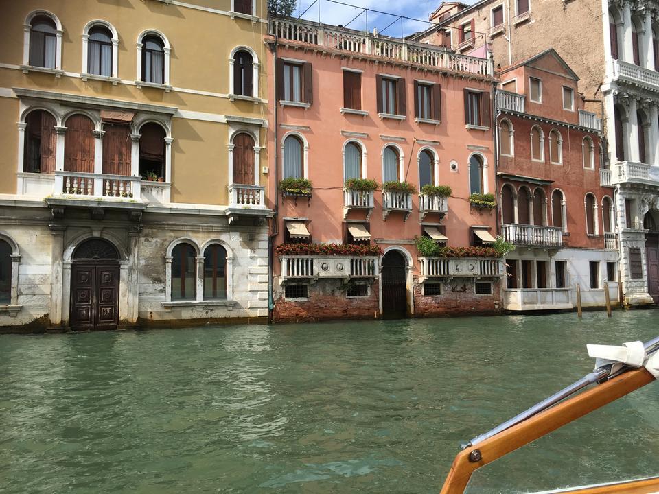 大運河ヴェネツィアイタリアの風景