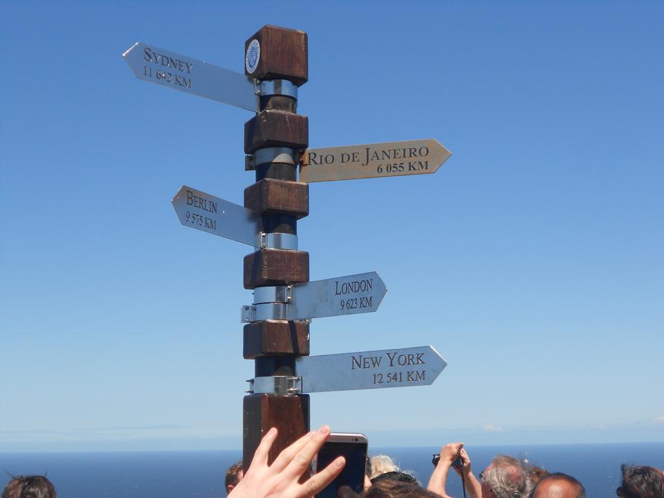 Cape Point Sign Marker