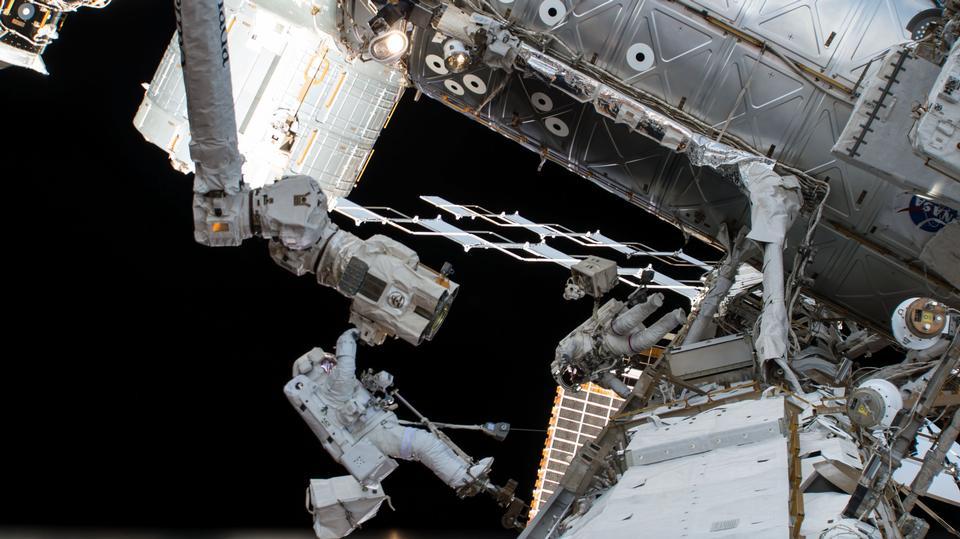 Astronautes de la NASA Spacewalk