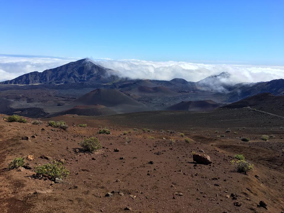 Sliding Sands Trail  Keoneheehee Maui Hawaii