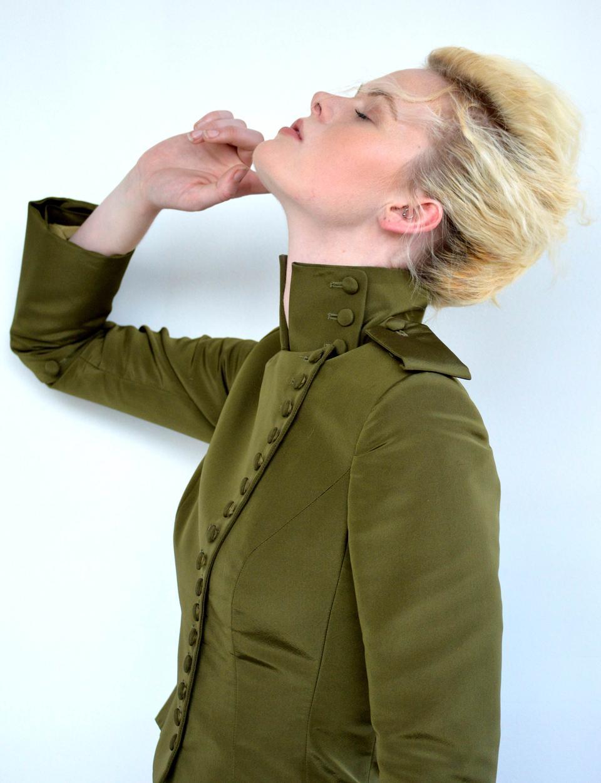 Modella di moda Brooke Mason