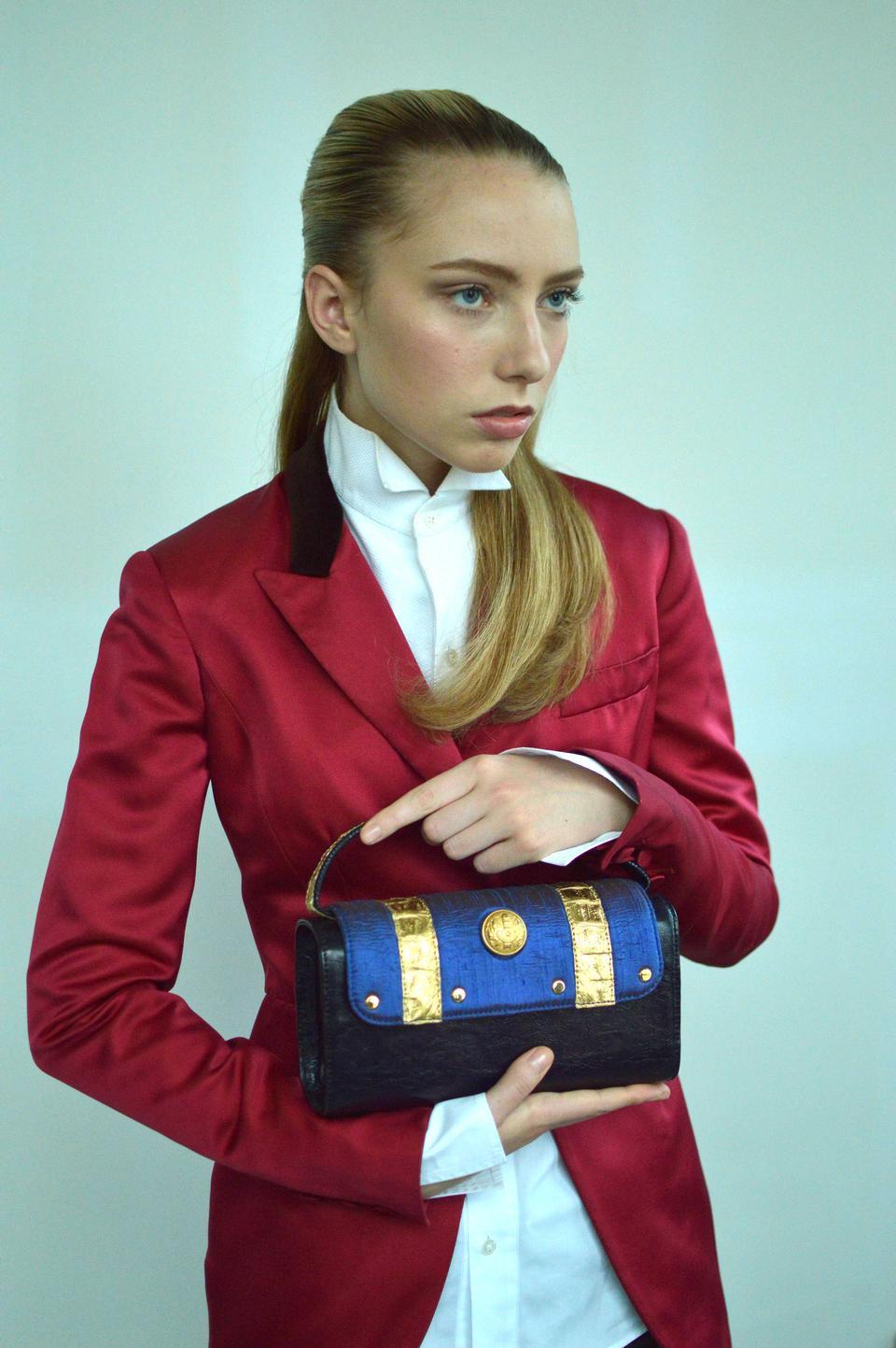 La modella Alexis nel servizio fotografico di New York