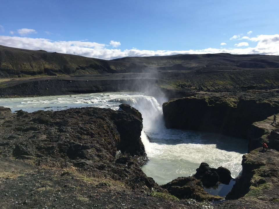 Sveinstekksfoss Waterfall, Iceland