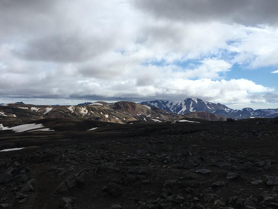 Icelandic landscape Landmannalaugar, Iceland