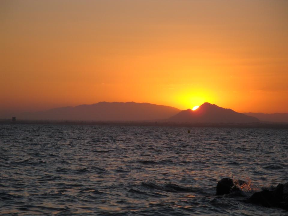 Atardecer en Mar Menor Mar