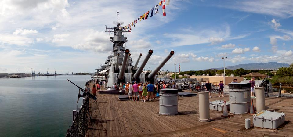 USS Missouri. Pearl Habour