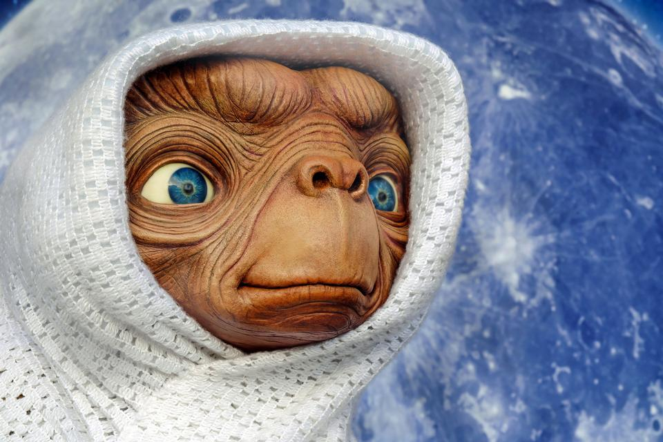 ET - character of the Steven Spielberg movie