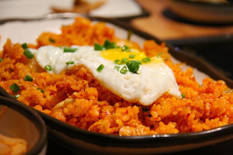 gebratener Kimchi-Reis