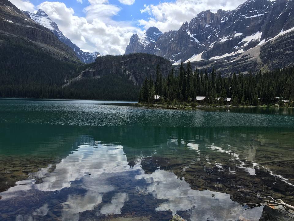 奧哈拉湖,幽鶴國家公園,加拿大落基山脈