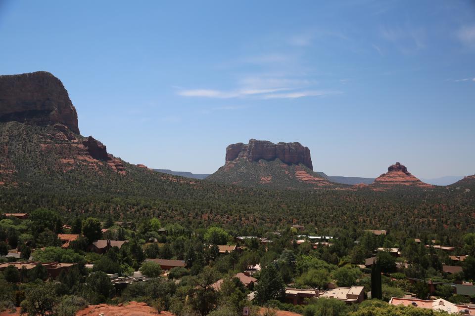 Formaciones rocosas en Sedona, Arizona
