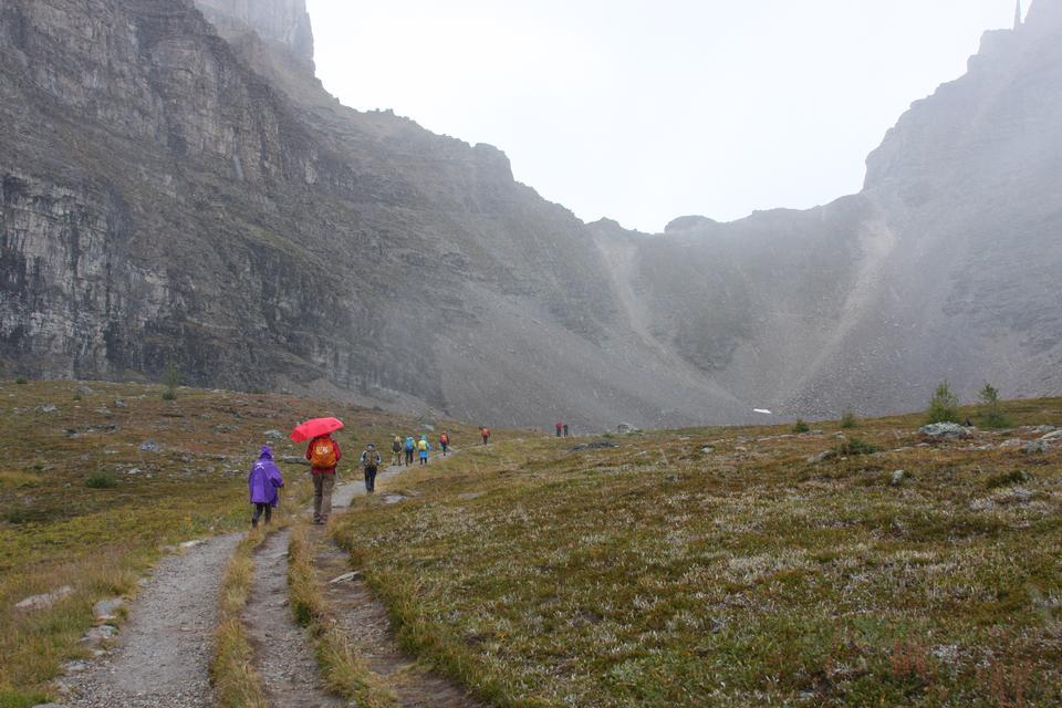 Valley of Ten Peaks. Banff National Park