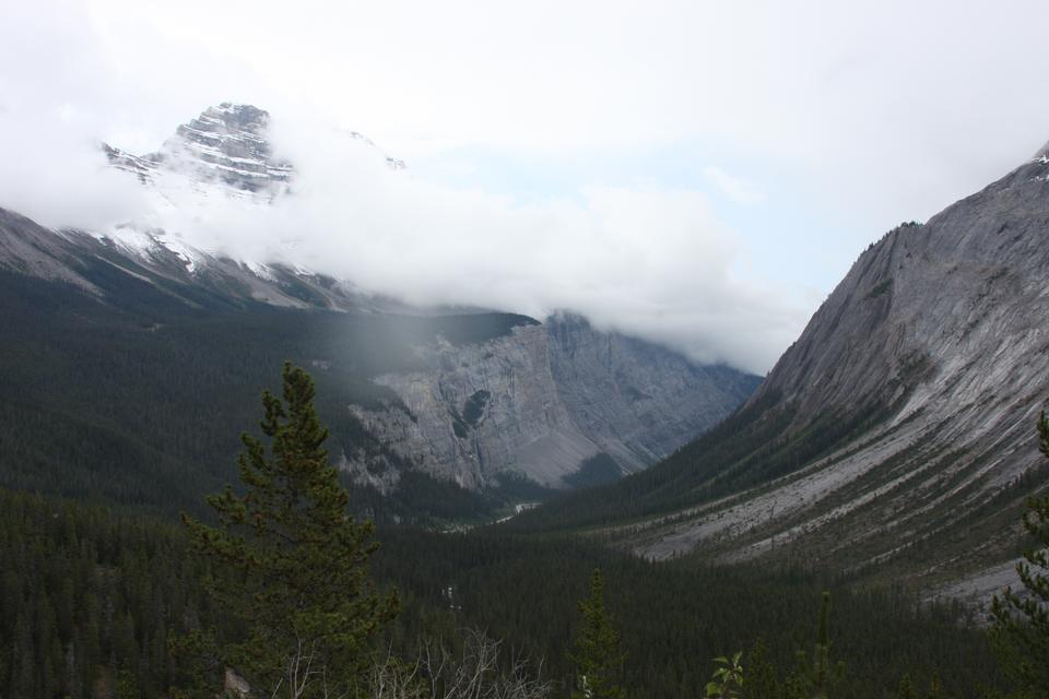 萨斯喀彻温河隧道,冰原公路,加拿大阿尔伯塔省