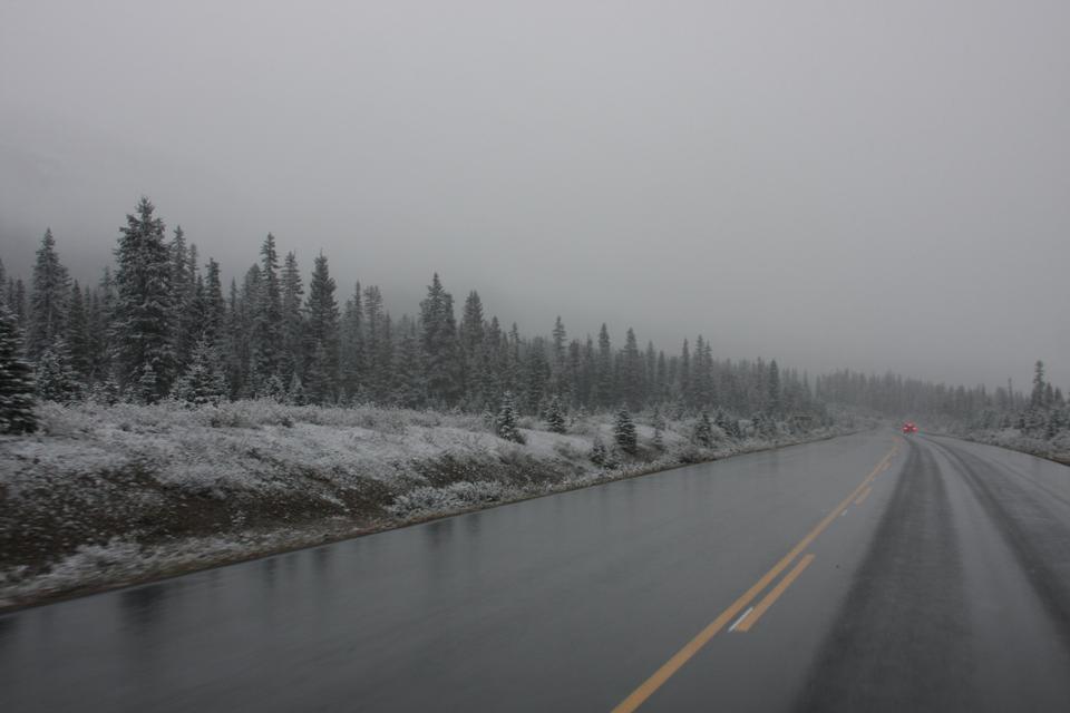 Saskatchewan River Crossing, Icefield Parkway, Alberta, Kanada