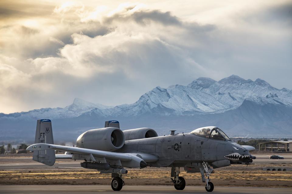 An A-10C Thunderbolt II