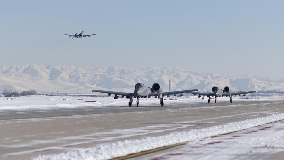 A-10s take flight