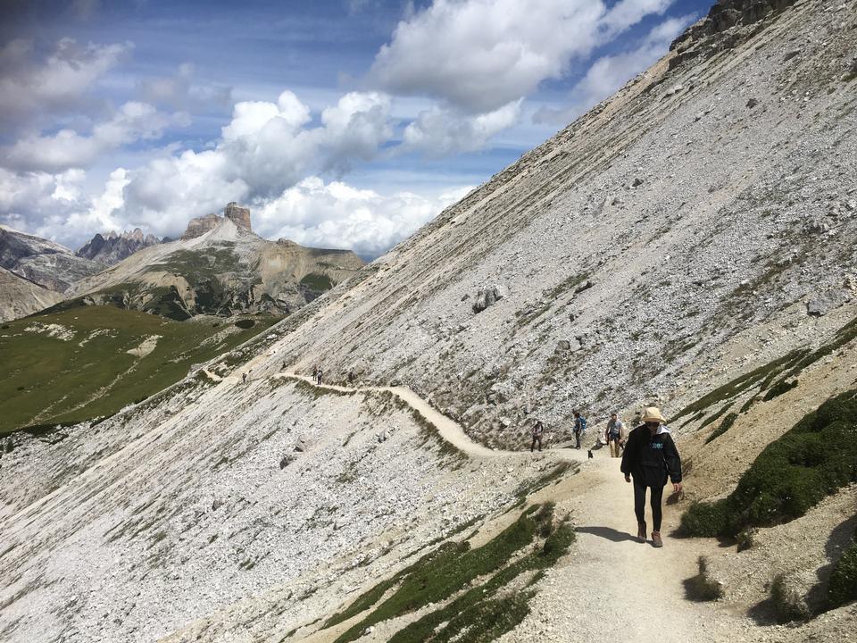 Passo Giau Dolomites Italy