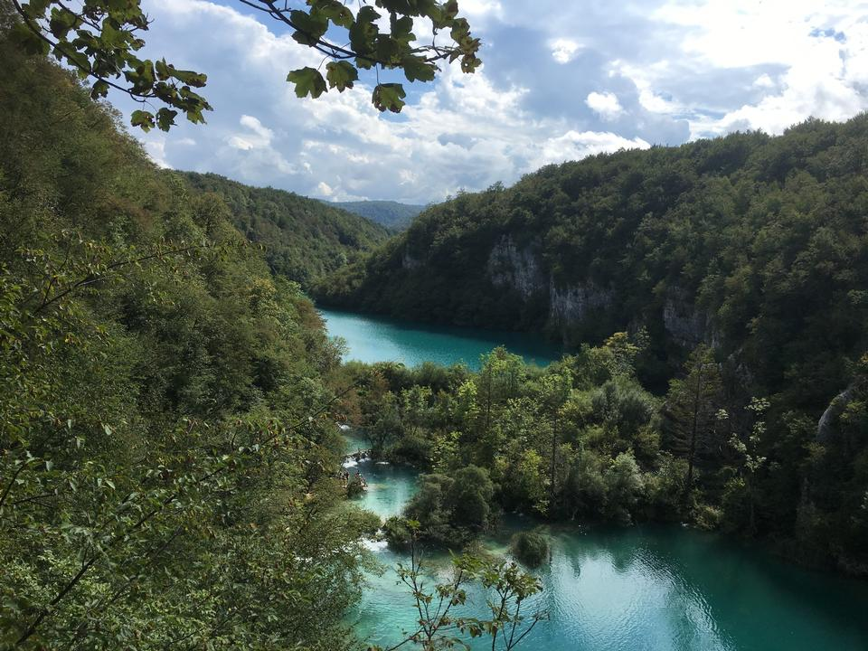 普里特维采湖,国家公园克罗地亚,欧洲