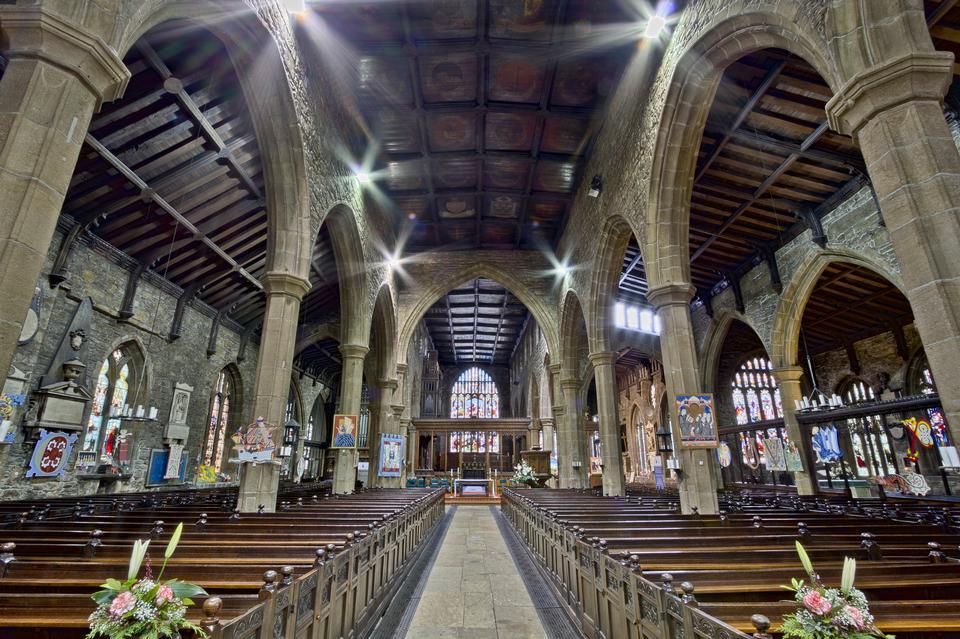 廣場教堂尖頂,哈利法克斯,西約克郡,英格蘭