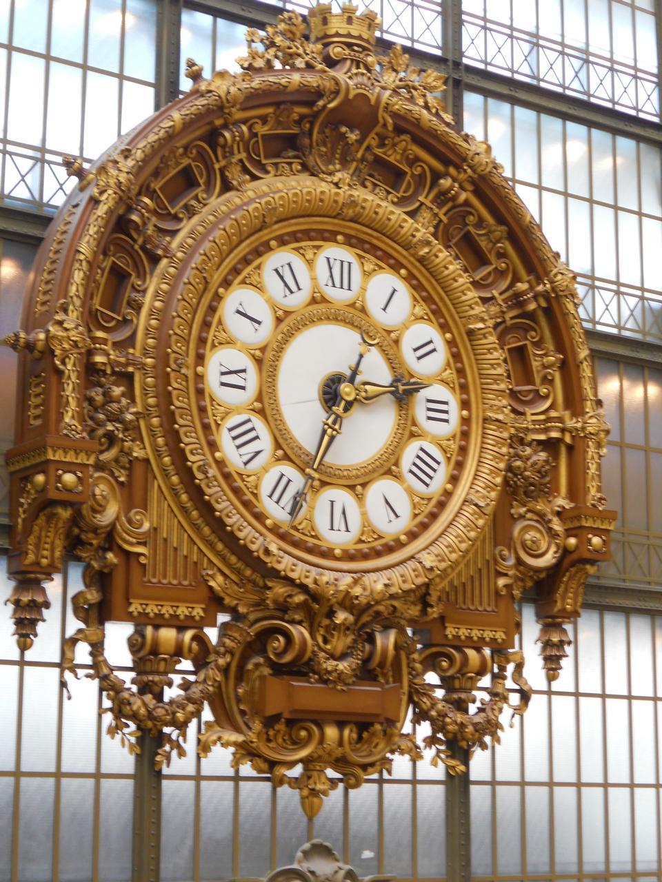 Musée d'Orsay Clock, Main Hall