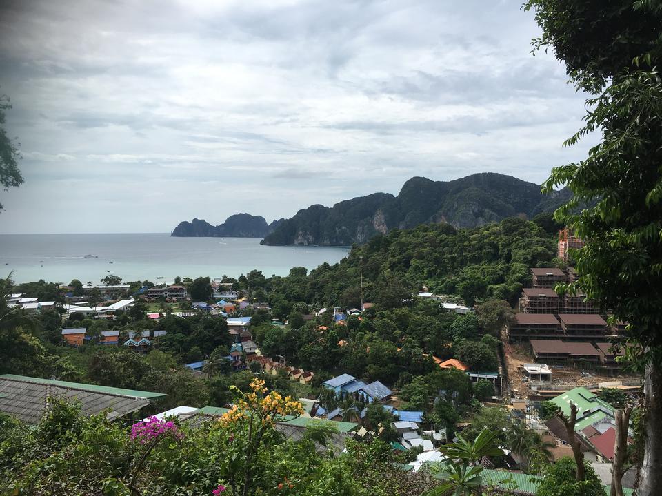 Patong tropical beach in Phuket Thailand