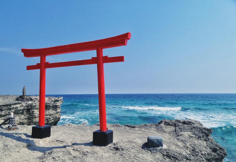 日本神社门
