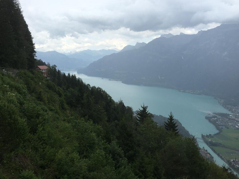 Harderkulm山在瑞士