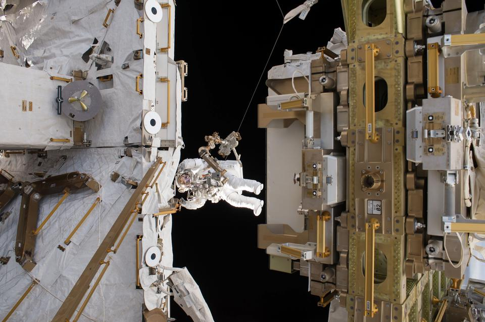 Spacewalks Prepare Station for Arrival