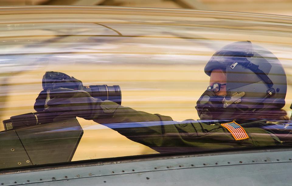 参谋军士。 F-16D战隼
