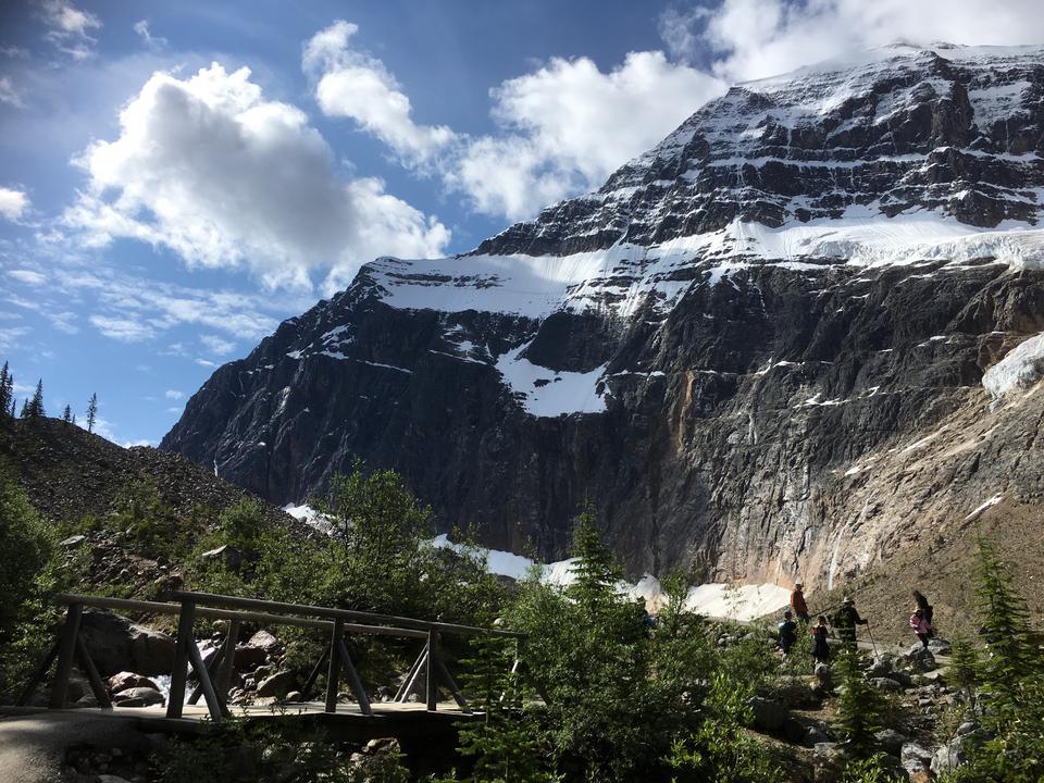 Mount Edith Cavell Jasper National Park