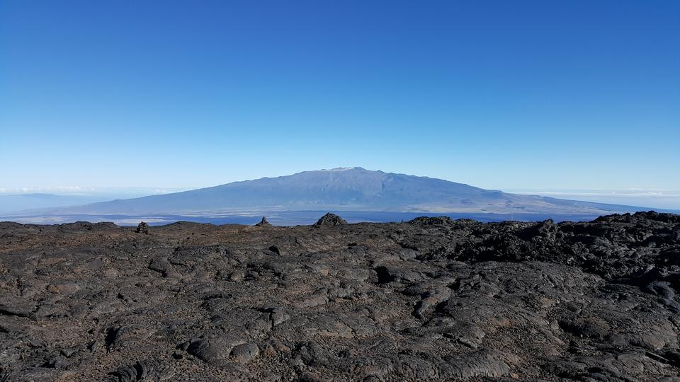 Trail to Mauna Loa, Big Island, Hawaii