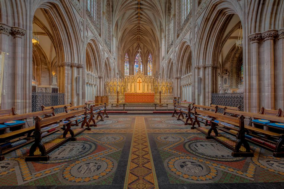 Lichfield Cathedral Choir, Staffordshire, UK