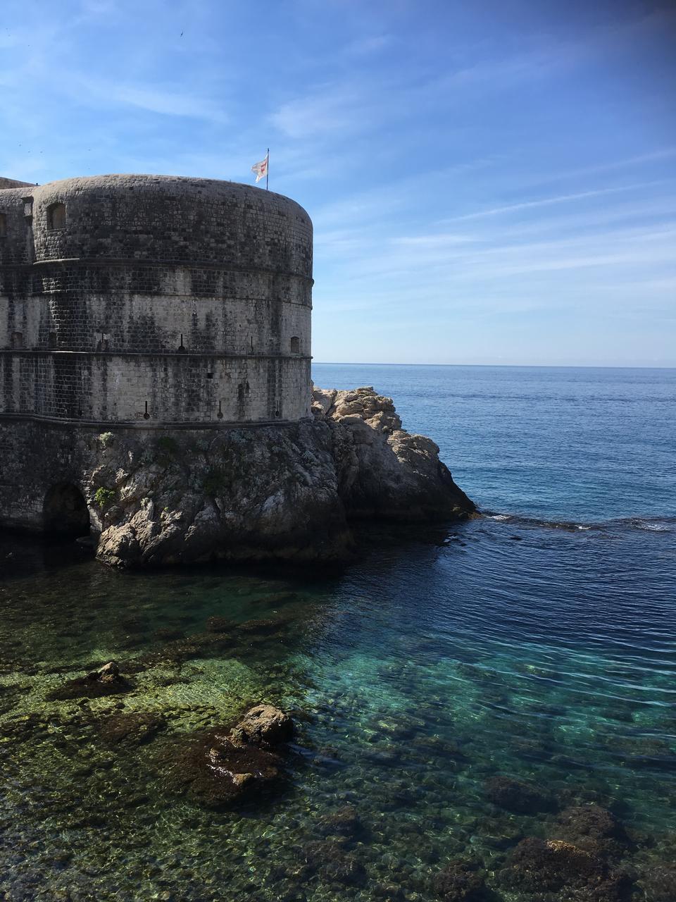 ドブロブニク、クロアチアのセントローレンス砦