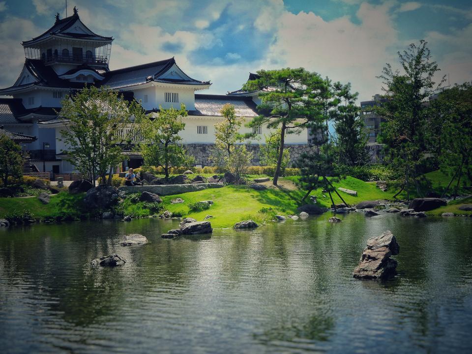Toyama Castle in Toyama Japan