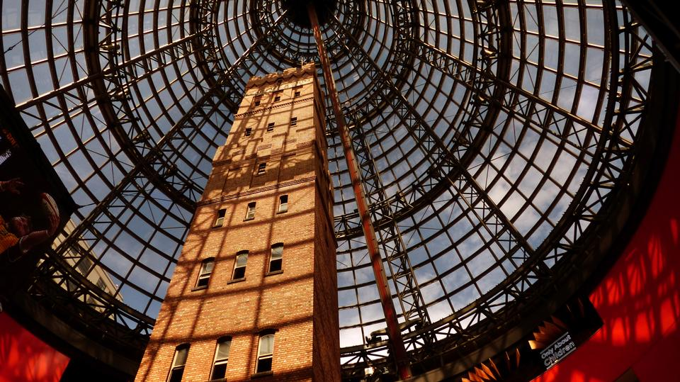 Coop's Shot Tower located in the heart of the Melbourne CBD, Aust